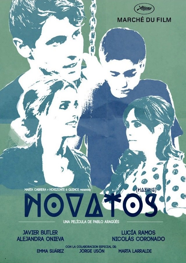 Poster alternativo de Novatos